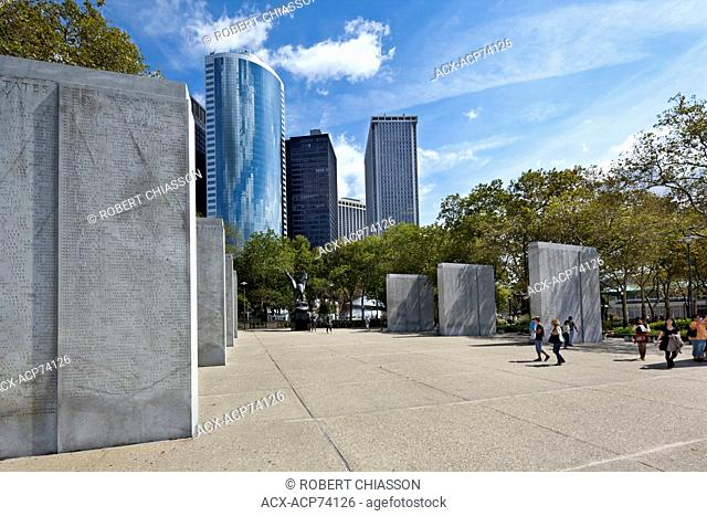 Memorial honouring 4,601 American servicemen who lost their lives in the Atlantic Ocean while engaged in combat during World War II