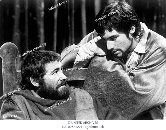THE LION IN WINTER UK 1968 Anthony Harvey PETER O'TOOLE (King Henry II) and TIMOTHY DALTON (King Philip of France) Regie: Anthony Harvey / THE LION IN WINTER UK...