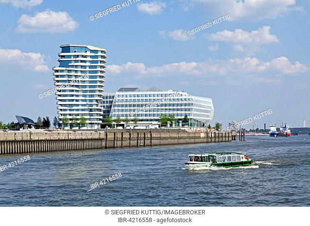 Marco Polo Tower Hamburg unilever house and marco polo tower hafencity quarter hamburg