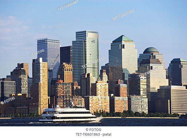 USA, New York State, New York City, Manhattan, World Financial Center