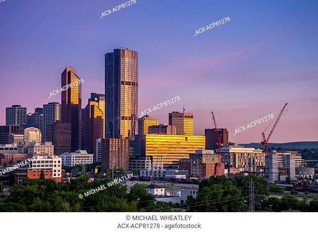 The Bow Tower and skyline, Calgary, Alberta, Canada