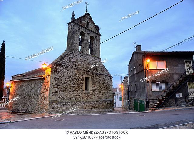 Church of San Benito Abad, Gargantilla del Lozoya, Madrid, Spain