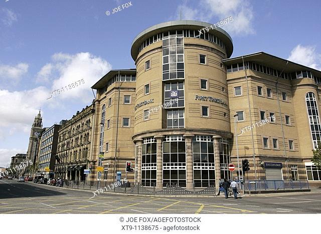 First Trust Bank Building, Ann St Belfast Northern Ireland