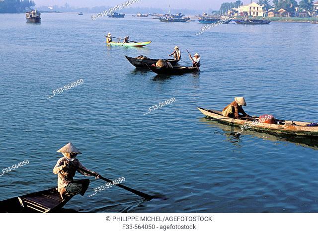 Vietnam. Hoi An. The market