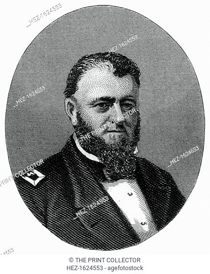 Louis Malesherbes Goldsborough, admiral in the United States Navy, 1862-1867. During the American Civil War Goldsborough (1805-1877) commanded the North...