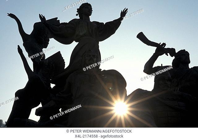 Kiev, Indepedence Square (Majdan), Ukraine, Majdan Nezaleznosti