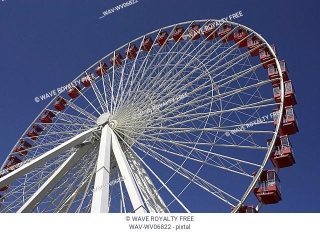 Ferris wheel on Navy Pier, Chicago