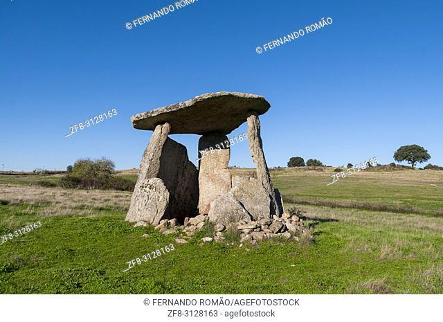 Dolmen at alentejo region, Portugal