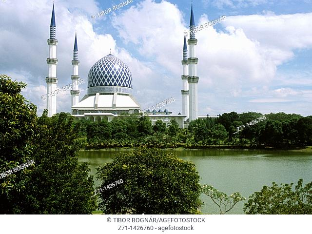 Malaysia, Selangor, Shah Alam, Sultan Salahuddin Abdul Aziz Shah Mosque