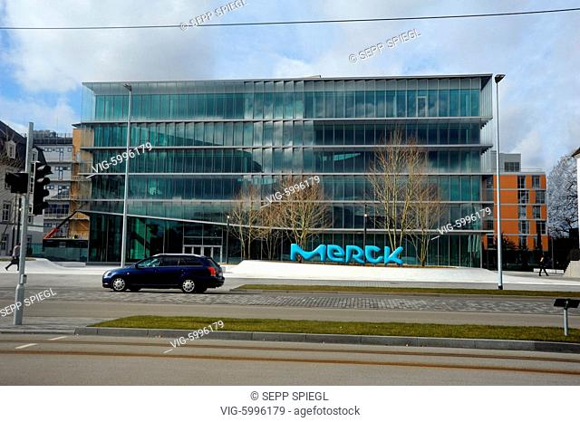 Head office outdoors business finance and industry Stock Photos and