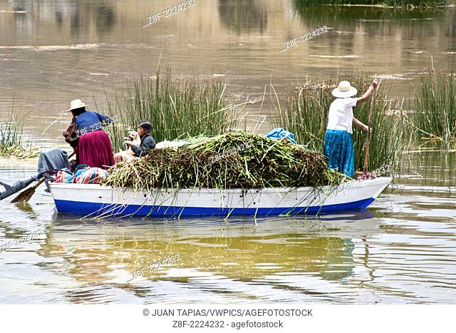 Lake Titicaca, shared by Peru and Bolivia, is the cradle of ancient ethnic and indigenous groups that inhabit the edges and thus have been used and accepted way...