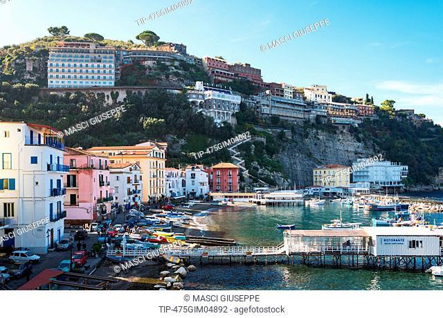 Italy, Sorrento, the fisherman village of Marina Grande