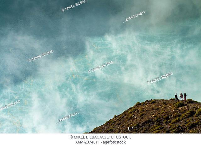Crater. Kelimutu volcano. Kelimutu National Park. Flores island. Indonesia, Asia