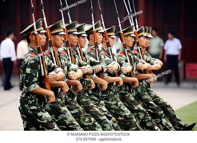 Military School. Beijing. China