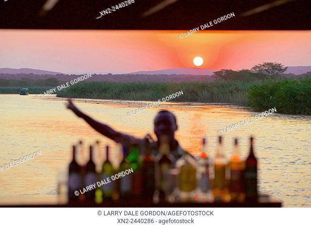 River Boat Bar. Kenya