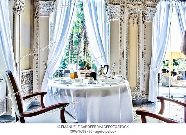 Hotel villa crespi,orta san giulio,piedmont,italy