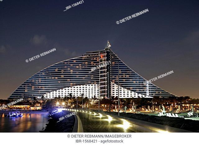 Jumeira Beach Hotel, Dubai, United Arab Emirates, Middle East
