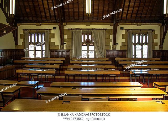 University of Sydney, The Main Quadrangle, Lecture room, Sydney, Australia