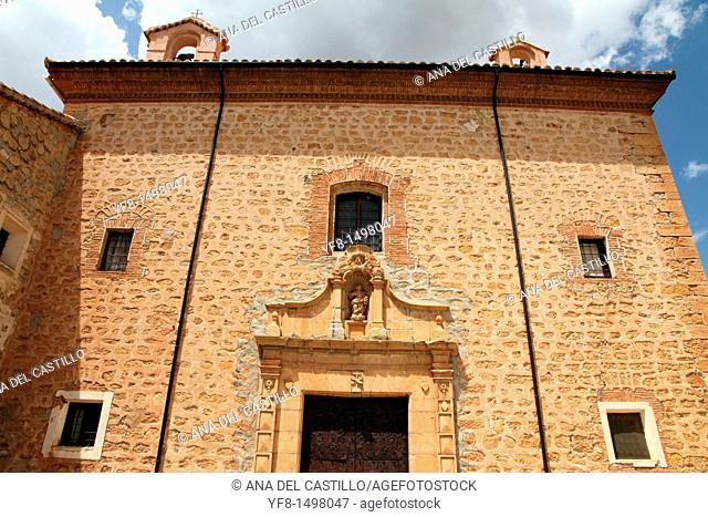 Convento de las Carmelitas Descalzas,Gea de Albarracin,Albarracin mountains,Teruel,Aragon,Spain