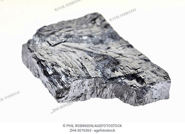 Galena (lead sulphide) principal ore of lead