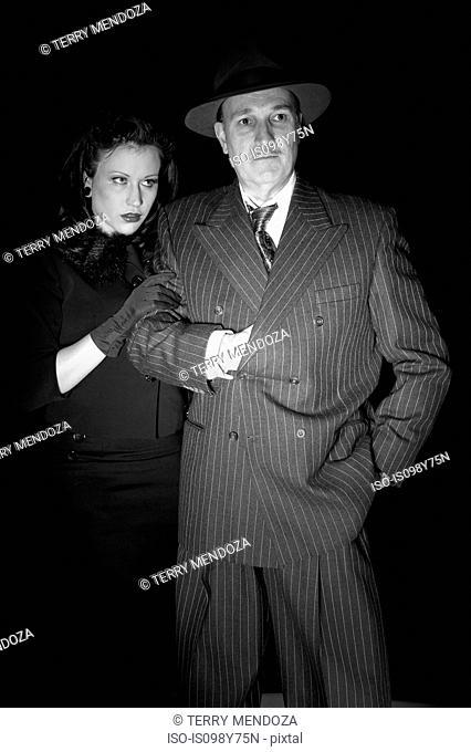 Film noir couple