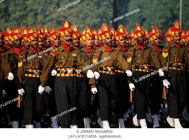 January 26th in India is the national day of celebration and Republic Day . There is a huge military review and parades,and soldiers wear their traditional...