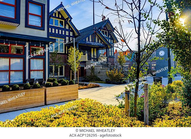 Delta Historic Municipal Hall, Ladner Village, Delta, British Columbia, Canada