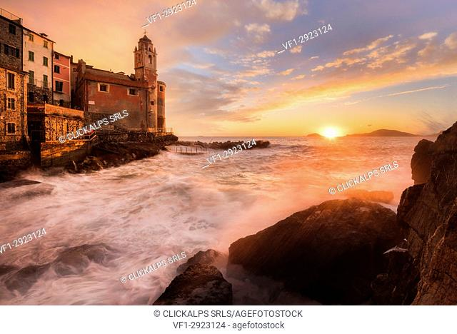 Gulf of the Poets, Tellaro, Province of La Spezia, Liguria, Italy, Europe