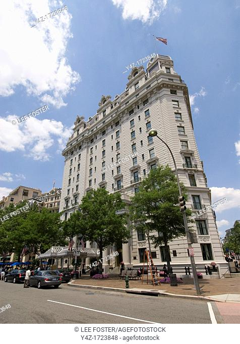 Washington DC, USA, the Willard InterContinental Hotel, 1401 Pennsylvania Avenue