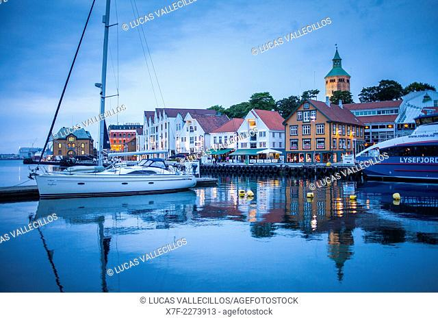 Vagen harbour, Stavanger, Norway