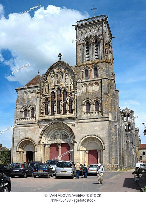 Church Sainte-Marie-Madeleine, Vézelay, Burgundy, France