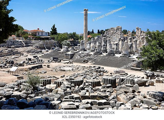 Ruins of the Temple of Apollo. Didim, Aydin Province, Turkey