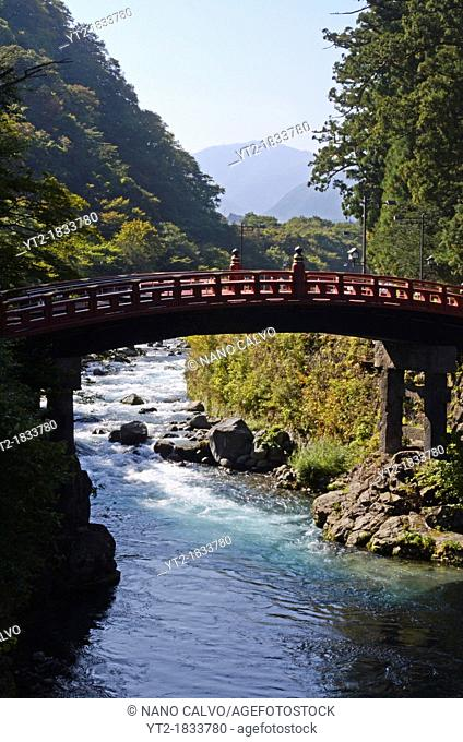 Shinkyo Sacred Bridge, Nikko