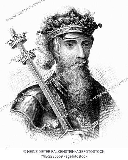 Edward III, 1312 - 1377, King of England,