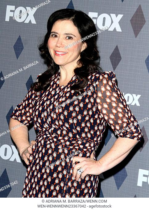 FOX Winter TCA 2016 All-Star Party held at the Langham Huntington Hotel - Arrivals Featuring: Alex Borstein Where: Los Angeles, California