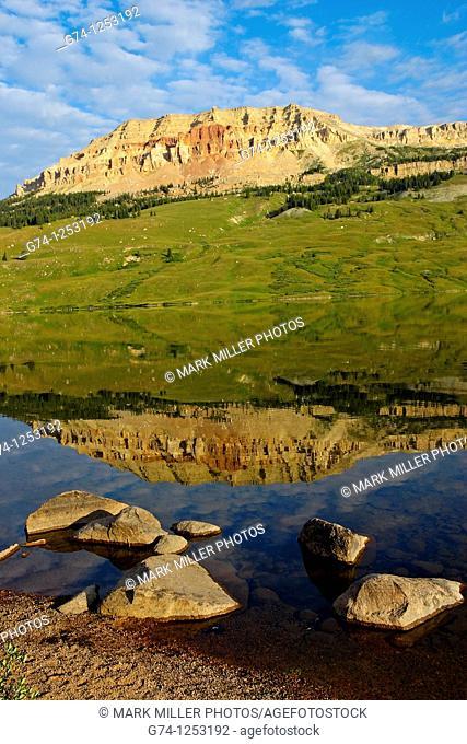 Beartooth Lake Sunrise Absaroka-Beartooth Wilderness