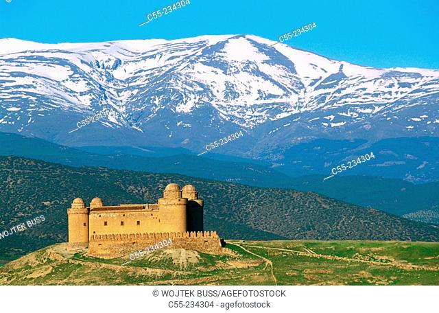 Lacalahorra Castle. Granada province. Spain