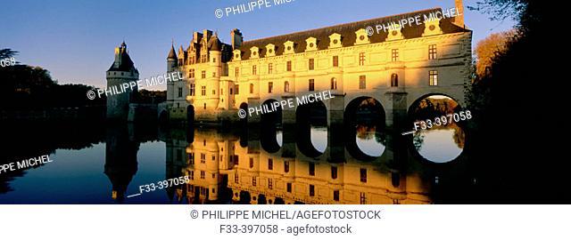 Chenonceau Castle. Loire Valley. France