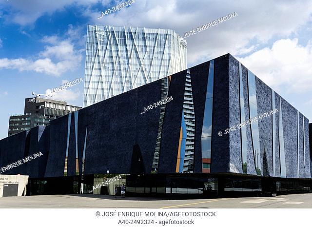 Forum building 2004.Barcelona.Catalunya.Spain