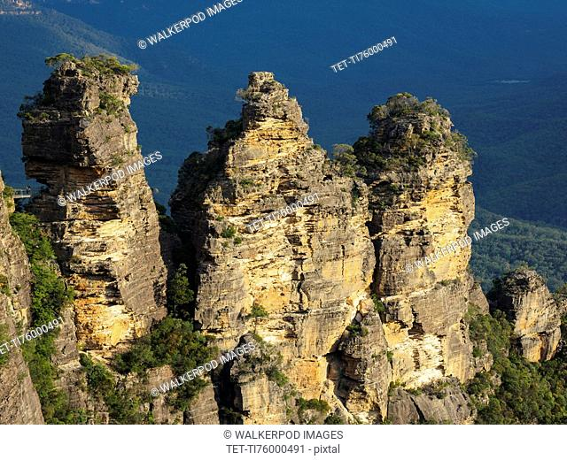 Australia, New South Wales, Rocks of Blue Mountains