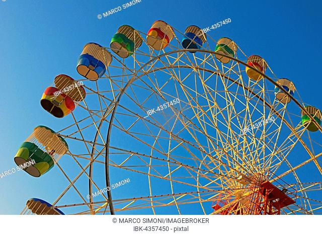 Ferris wheel, Luna Park, Sydney, New South Wales, Australia