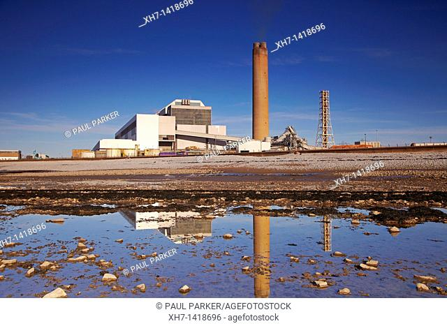 Aberthaw Power Station, Aberthaw, Glamorgan, Wales, UK
