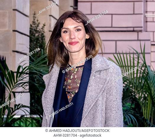 PARIS, FRANCE - April 12 : Actress Doria Tillier n attends the 'Diner du Cinema - Madame Figaro' event on April 12, 2019 in Paris, France