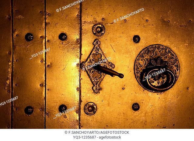 Door, Church of Santa Maria, Castro Urdiales, Cantabria