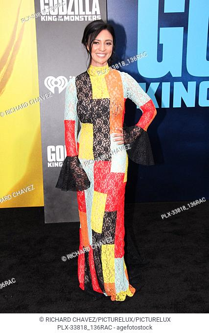 """Natalie Shaheen at the Warner Brothers Pictures World Premiere of """"""""Godzilla King Of The Monsters"""""""". Held at the TCL Chinese Theater in Hollywood, CA, May 18"""