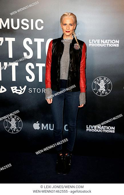 'Cant Stop, Wont Stop: A Bad Boy Story' Screening - Arrivals Featuring: Poppy Delevingne Where: London, United Kingdom When: 16 May 2017 Credit: Lexi Jones/WENN