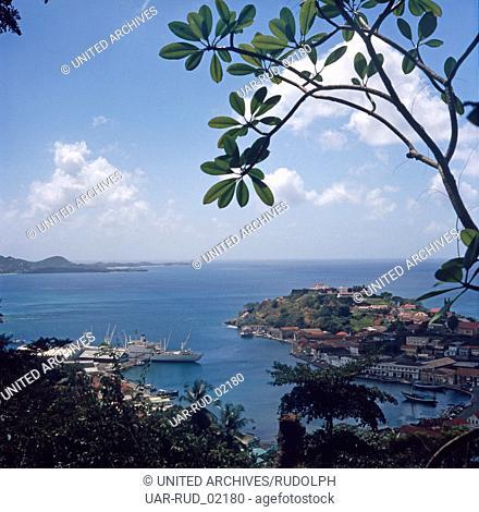 Reise nach Grenada, Karibik 1970er Jahre. Journey to Grenada, Caribbean 1970s