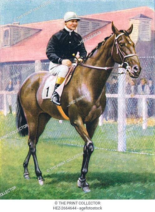 Fair Copy, Jockey: R. Perryman', 1939. Artist: Unknown
