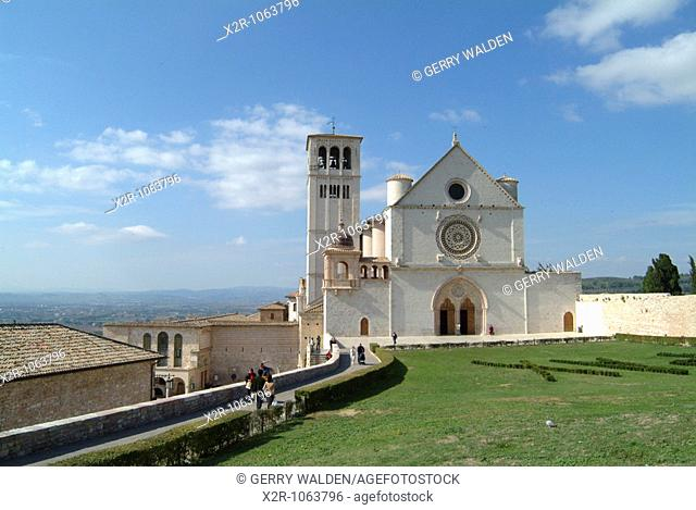 Umbria - Assisi - basillica of St  Francis