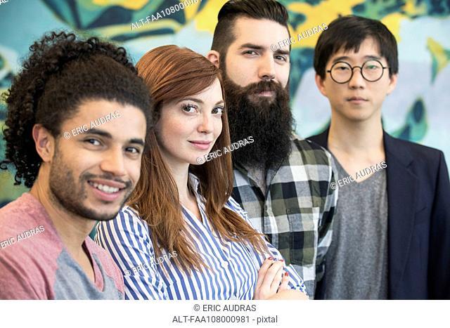 Team of colleagues, portrait